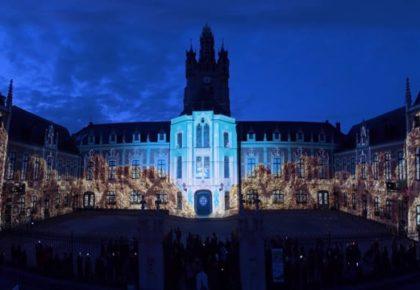 LAUWIN PLANQUE : Le Vidéo Mapping Festival s'installe dans la commune en Décembre.