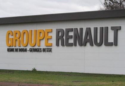DOUAI: Renault en réflexion pour le transfert de l'assemblage de Maubeuge jusqu'à Douai.