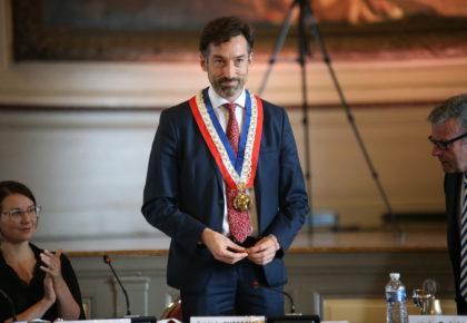 DOUAI : Frédéric Chéreau repart pour 6 ans de mandat avec 14 adjoints.