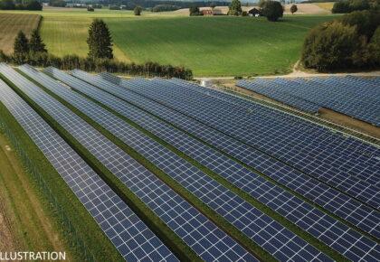 SOMAIN: Une centrale photovoltaïque va voir le jour sur la zone d'activité la Renaissance.