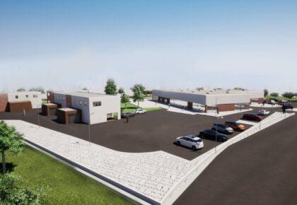 DOUAISIS : Une salle de réception sur le Parc d'Activités Barrois va sortir de terre.
