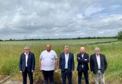 DOUAISIS: L'entreprise Bils Deroo s'implante dans la zone d'activités La Renaissance de Somain