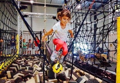 DOUAI : Ninja Warrior au Parc de loisirs Jacques Vernier ce week-end.