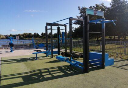 DOUAI : Une aire d'échauffement installée au parc de loisirs Jacques Vernier